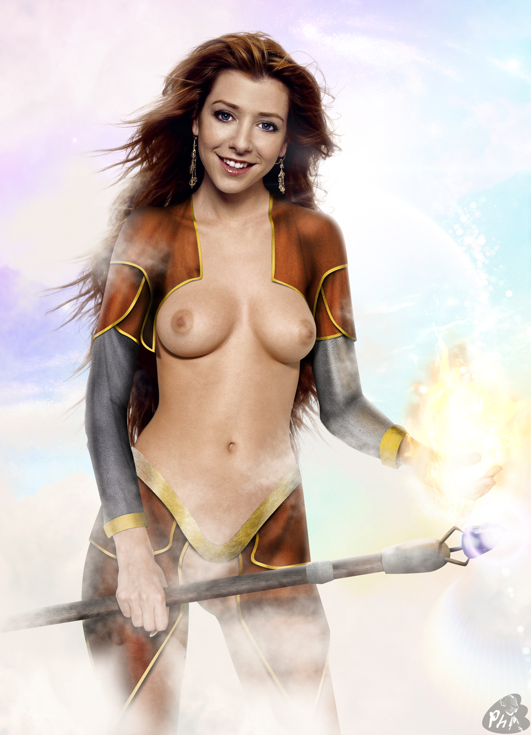 Actress alyson hannigan naked free pictures — photo 2