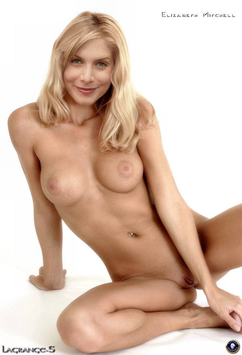 elizabeth mitchell nude and naked