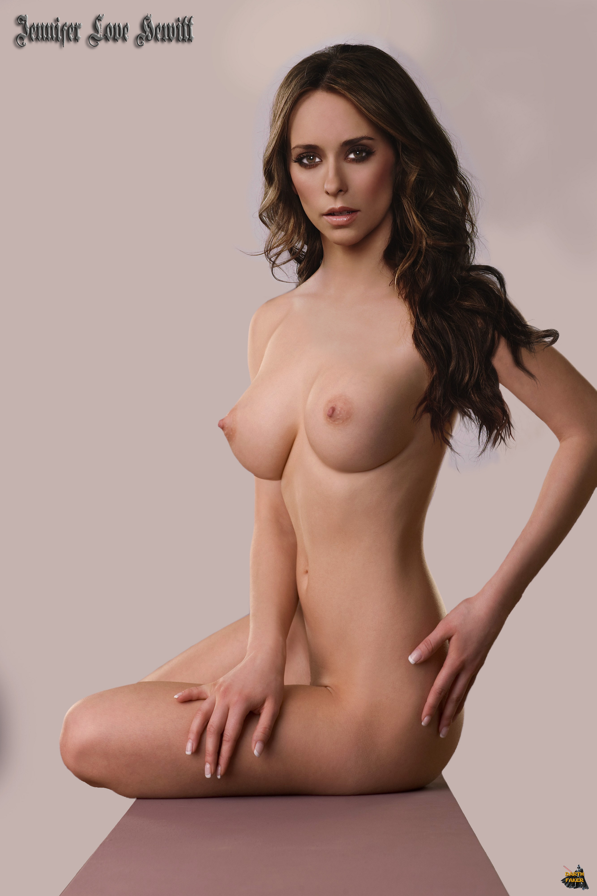 Jennifer Love Hewitt Showing Her Tits And More
