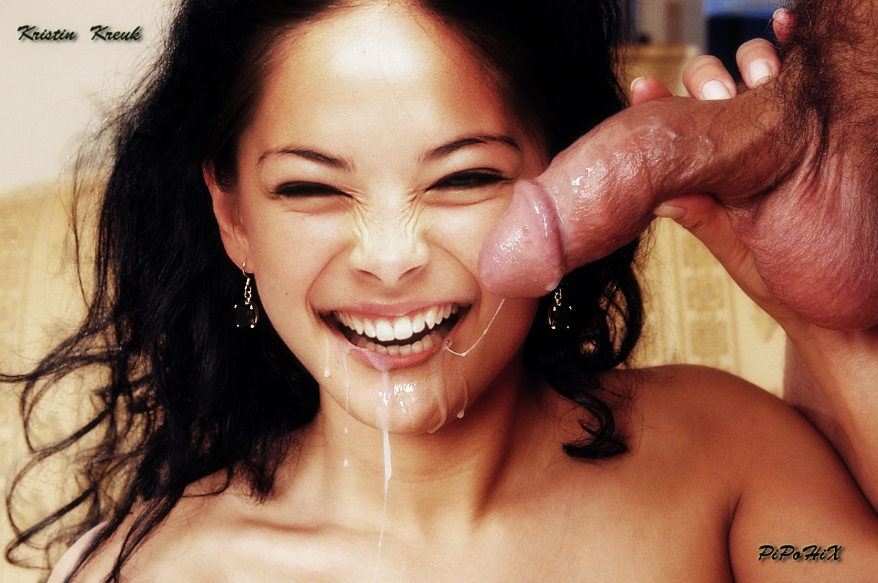 Kristin kreuk blowjob fake — 7