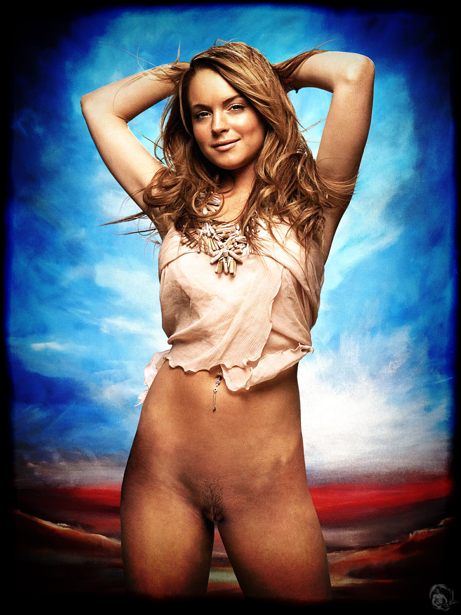 Lohan nude high res