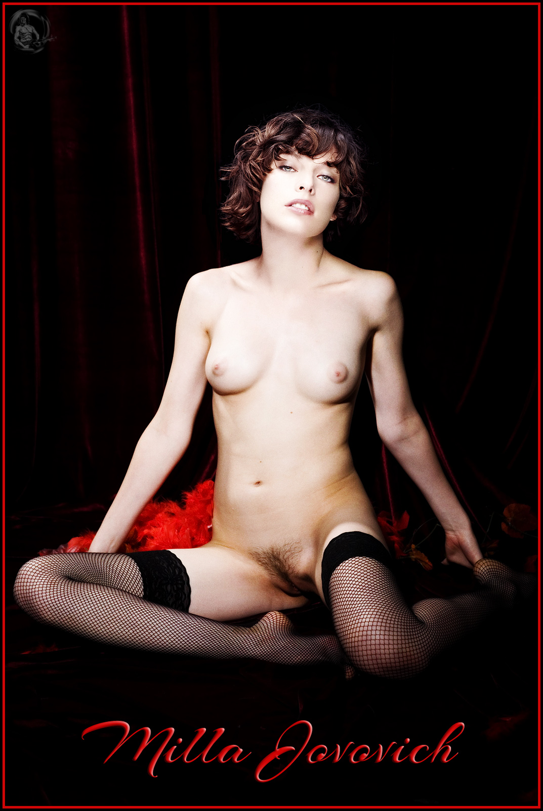 from Alex milla jovovich nude in playboy