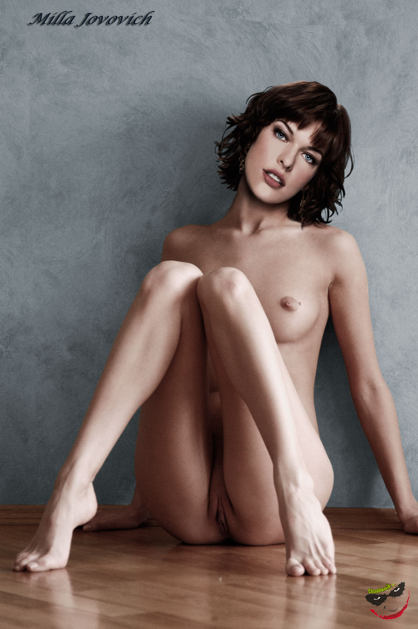 milla jovo fully naked