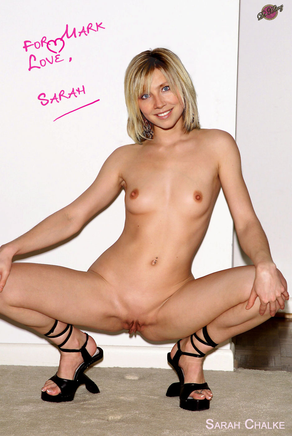 Sarah chalke peeing fakes, hottest cj miles nude pic