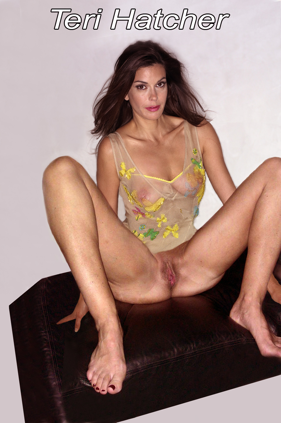 Teri hatcher in nude pantyhose — photo 8