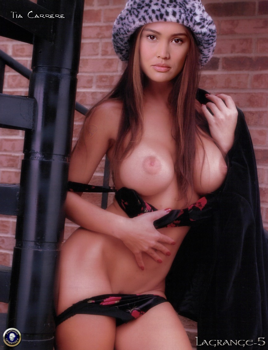 young tia carrere nude